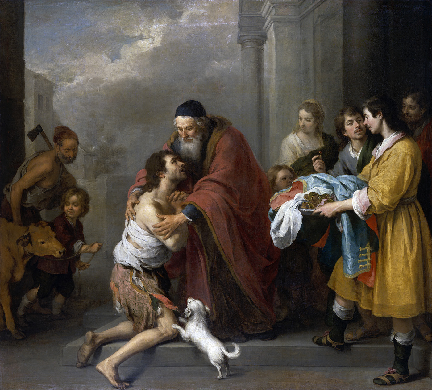 Return of the Prodigal Son 1667 1670 Murillo