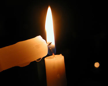 Image result for candles lighting other candles